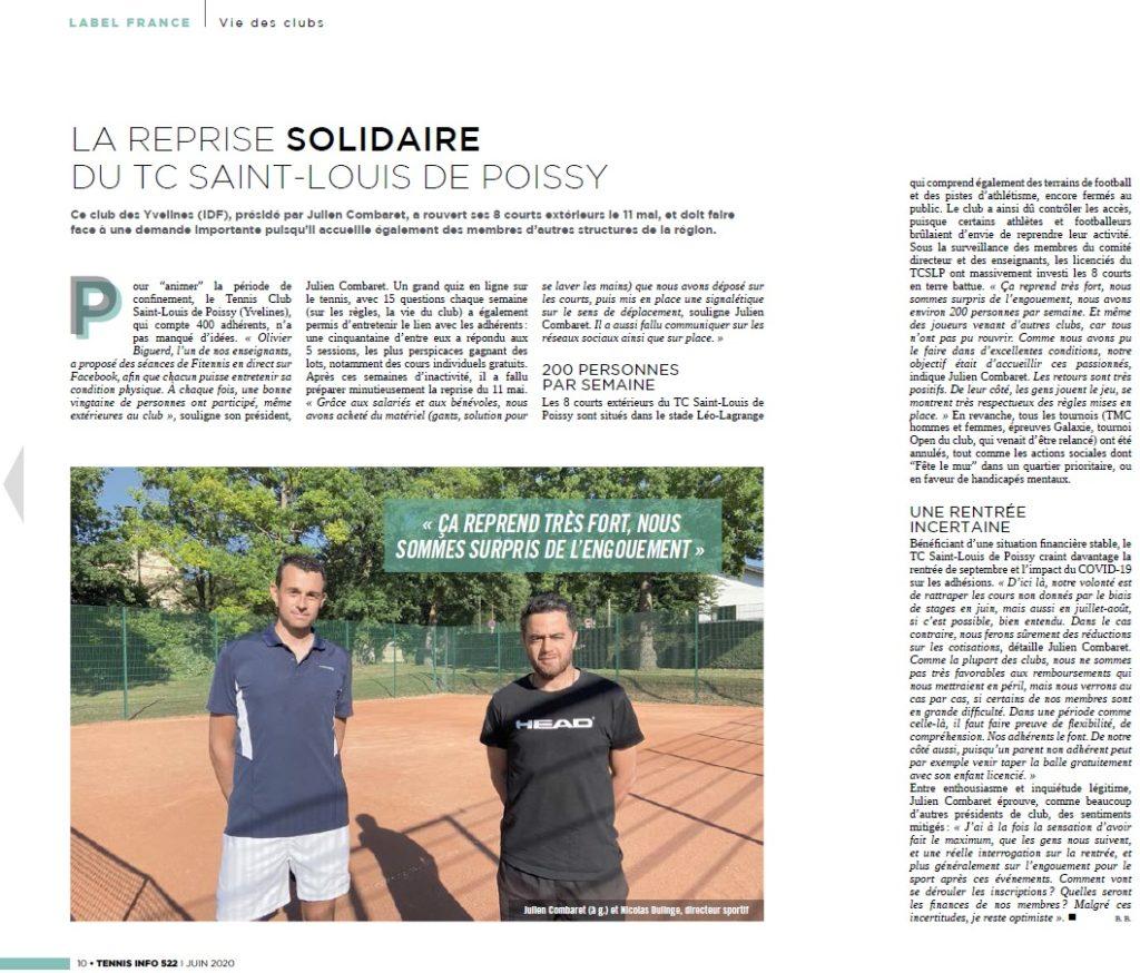 Juin 2020 - Tennis Info